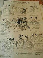 Typo 1882 Echos de la Plage Pèle Mèle de Dessins