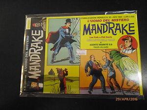 MANDRAKE L'UOMO DEL MISTERO n° 32  - COMIC ART - 1994