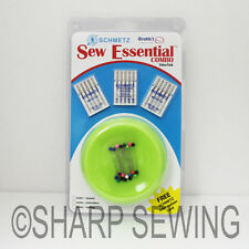 GRABBIT SCHMETZ SEW ESSENTIAL COMBO VALUE PACK - PINS AND NEEDLES LIME