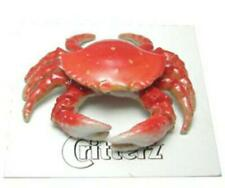 More details for little critterz miniature porcelain animal figure dungeness crab
