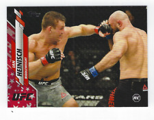 IAN HEINSICH 2020 TOPPS UFC INDEPENDENCE DAY ROOKIE PARALLEL /76