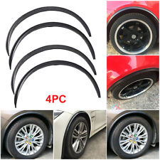 "4pc Universal Car 28.7""/73cm Carbon Fiber Wheel Eyebrow Auto Strip Protector Lip"