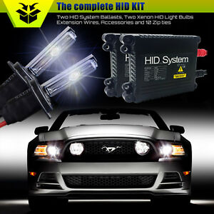 GE Xenon Lights Slim 55W HID Kit for Dodge Neon Ram 1500 Journey Grand Caravan