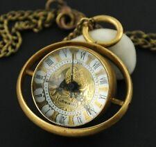 Classic Ball Glass Copper Automatic Mechanical Pocket Watch Pendant Steampunk