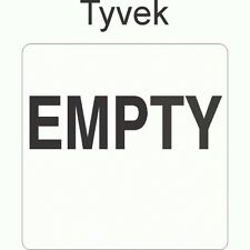 Empty 6x6 Tyvek Labels (ROLL OF 100)