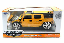 Jada Kustoms Hummer H2 Yellow 1/24 Diecast  Cars 90403