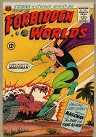 Forbidden Worlds #127-1965 fn- 5.5 Magicman Kurt Schaffenberger ACG