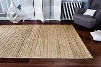 Authentic Handmade Natural JUTE Cream Authentic Rug Runner S - Large Size 20%OFF