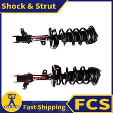 2X FRONT FCS Shock & Strut Kit Set Fits 2008-2010 HONDA ODYSSEY EX3.5L 3471cc V6