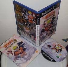 NARUTO ULTIMATE NINJA - PlayStation 2 PS2 Gioco Game Play Station