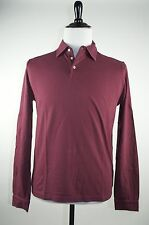 Kiton Napoli Slim Fit Polo Shirt L (52) Handmade in Italy of Superfine Cotton