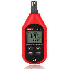 UNI-T UT333 Indoor Digital Temperature Humidity Meter Thermometer Hygrometer