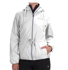 NWT COLUMBIA Women's Aurora's Wake II Omni-Shield Rain jacket Attached hood