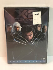 X2: X-Men United (DVD, 2003, 2-Disc Set, Pan  Scan) Brand New / Factory Sealed