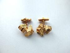 1 Paar Manschettenknöpfe  orig. LAPPONIA Y7 von 1976- 585 Gelbgold
