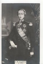 Vintage Postcard a Young King Leopold II of the Belgians