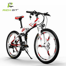 250W*36V 21Speed Suspension Electric Bike Mountain Folding ebike bicycle RT-860