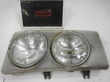 1980 Mercedes-Benz 300SD Driver Left side Headlamp 1168200761 (NIQ - Cracked)