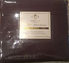 ClarkClark Premier 1800 Collection Duvet Set (King Size) - Purple Eggplant