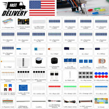Diy Electronics Projects Starter Kit W Breadboard Basic Making Parts Components