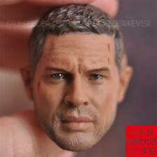 "Custom 1/6 scale Tom Hardy Mad Max head sculpt fit 12"" figure body"
