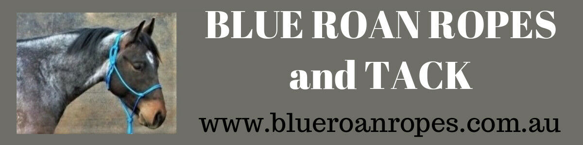 BLUE ROAN ROPES and TACK