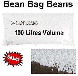 Bean Bag Filler Balls 100L Filling Large Size Bag of Beans for Most Bean Bags