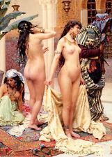 "Nude Women For Harem 8.5x11"" Photo Print Picking the Favorite Giulo Rosati Art"