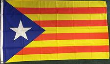 Senyera Estelada Blava 5x3 1918 Separatist Catalan Socialist Communist Catalunya