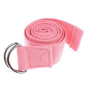 180Cm Sport Yoga Stretch Strap D-Ring Belt Gym Waist Leg Fitness Adjustable FJ