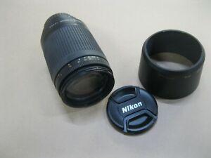 NIKON AF NIKKPR 70-300mm 1:4-5.6 CAMERA LENS ~ EXCELLENT WELL CARED FOR COND