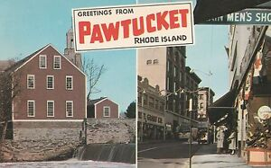LAM(S) Pawtucket, RI - Greetings From - Two Views