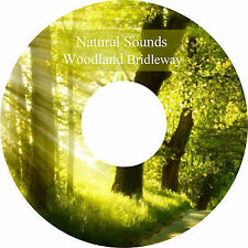 Natural Sounds Woodland Bridleway CD Relaxation Sleep Aid Stress Relief Healing