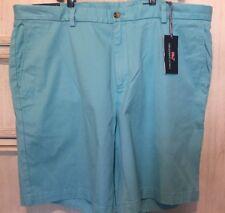 Vineyard Vines Breaker Shorts Mens Size 42 Waist Classic Flat Front Light Blue
