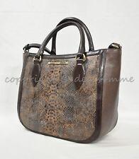 e8bb69295520 Новый с ценниками брамины небольшие Лена кожаная сумка/сумка через плечо из  коричневой Кургана