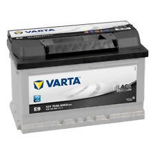 VARTA Black Dynamic Autobatterie E9 12V 70Ah 5701440643122 66 68 72 74 75 77Ah
