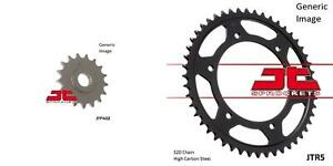 Front and Rear Steel Sprocket Kit for OffRoad BMW F650 GS Dakar 2001-2005