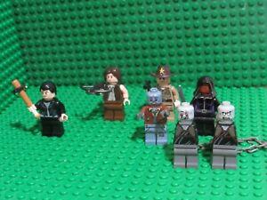 MADE OF GENUINE LEGO PARTS LEGO WALKING ZOMBIE SURVIVOR MINIFIGURES /& CROSSBOW