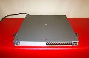 HP Procurve J8164A 2626-PWR 24-port Managed Switch 10/100Mbps 1U Rack Mountable