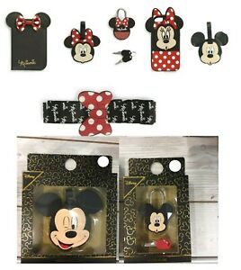 Primark Disney Minnie Mouse Passport Holder Cover Luggage Tag Travel Phone Case