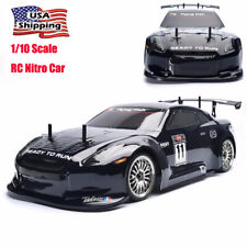 HSP 1/10 Scale 4WD Rc Drift Car Racing Nitro Gas Power On-Road Vehicle Motor Kit