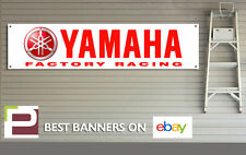 Yamaha Factory Racing banner for Workshop Garage, Pit Lane, Red, YZR500, YZF-M1