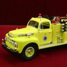 NEW - NEW YORK THRUWAY - 1951 FORD F7 BIG JOB FIRETRUCK - First Gear