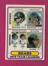 1980 TOPPS # 226 BEARS WALTER PAYTON LEADERS EX-MT CARD (INV# A6267)