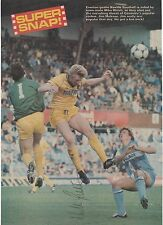NEVILLE SOUTHALL EVERTON & STEVE HUNT COVENTRY ORIGINAL SIGNED MAGAZINE CUTTING