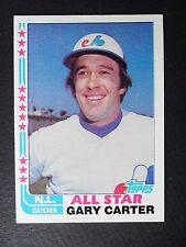 1982 TOPPS GARY CARTER ALL STAR BASEBALL CARD #344