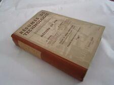Scolaire: Résumé de technologie métier du fer par Sébire et Navet 1949