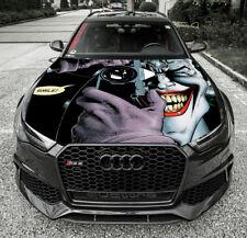 Vinyl Decal Joker Photo Car Hood Wrap Full Color Graphics Custom Size Sticker