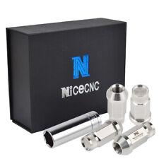 20X 1/2x20 Wheel Lug Nut 304 Stainless Steel Bolt for Lincoln Aviator Town Car
