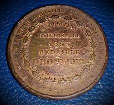 "MEDAILLE : ""EXPOSITION UNIVERSELLE 1855 "" - MEDAILLE D'HONNEUR"